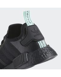 Adidas Black Nmd_r1 Shoes for men