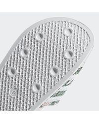 Adidas Black Adilette Slides