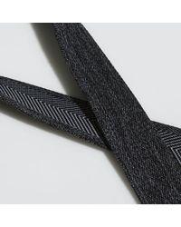 Adidas Black Heather Webbing Belt for men