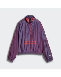 Giacca a vento Originals by AW Two-Tone di Adidas in Purple