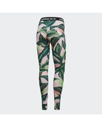 Adidas Green Leggings