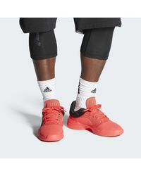 Chaussure Pro Adversary Low 2019 Adidas pour homme en coloris Red