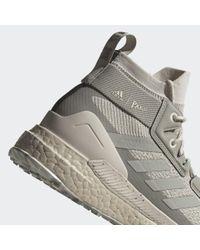 Chaussure de randonnée Terrex Free Hiker Parley Adidas en coloris Gray