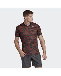 Adidas FreeLift Primeblue T-Shirt in Multicolor für Herren