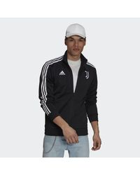 Adidas Black Juventus 3-stripes Track Top for men