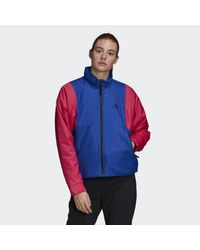Adidas Blue Back To Sport Lite Insulated Jacket