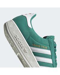 Chaussure Trimm Trab Adidas en coloris Green