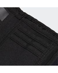 Portafoglio 3-Stripes di Adidas in Black