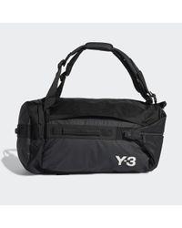 Y-3 Hybrid Duffel di Adidas in Black