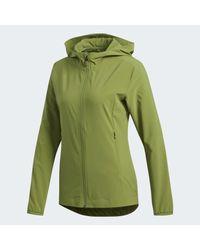 Veste Badge of Sport Adidas en coloris Green