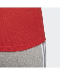 Camiseta de tirantes Adidas de color Red
