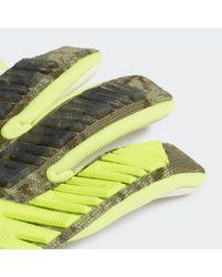 Guanti Predator Pro di Adidas in Green