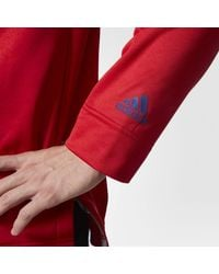 Adidas - Red Canadiens Jersey Replica Pullover Hoodie for Men - Lyst
