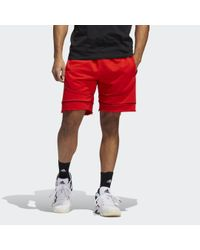 Adidas Cross Up 365 Short in het Red voor heren