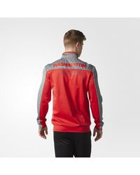Adidas - Red Capitals Track Jacket for Men - Lyst