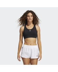 Adidas Black Ultimate Alpha Bra