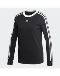 Adidas Black 3-stripes Tee