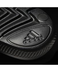 Adidas Black Voloomix Graphic Slides for men