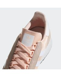 Adidas Orange Forest Grove Shoes