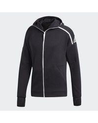 Adidas ZNE Kapuzenjacke in Black für Herren
