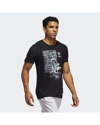 Adidas White Street Photo Tee for men