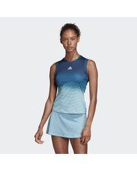 Canotta Parley di Adidas Originals in Blue