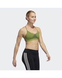 Adidas Green All me Badge of Sport Sport-BH
