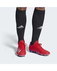 Adidas Voetbalschoenen X 18.3 Fg in het Red voor heren