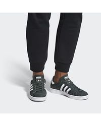 Adidas Gray Campus Shoes for men