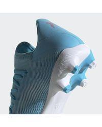 Chaussure X 19.3 Multi-surfaces Adidas en coloris Blue