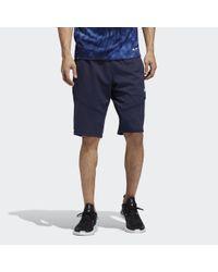 Short 4KRFT Parley di Adidas in Blue da Uomo