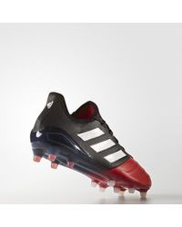Adidas Black Ace 17.1 Leather Firm Ground Cleats for men