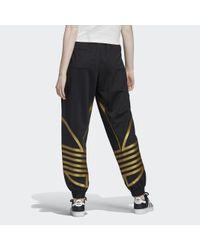 Pantalón Large Logo Adidas de color Black