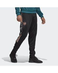 Pantaloni Travel Arsenal FC di Adidas in Black da Uomo