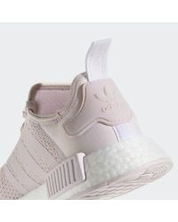 Adidas Purple Nmd_r1 Shoes