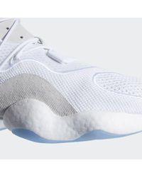 Adidas White Crazy Byw Shoes for men