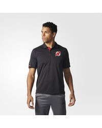 Adidas - Black Devils Pro Locker Room Polo Shirt for Men - Lyst