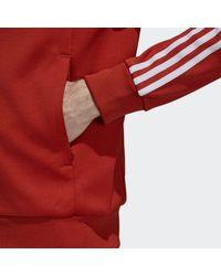 Adidas Orange Sst Track Jacket for men