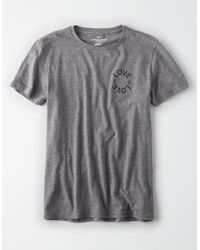 American Eagle - Gray Ae Pride Graphic Tee for Men - Lyst
