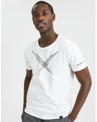 American Eagle - White Ae Camo Graphic Tee for Men - Lyst