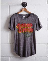 Tailgate Gray Women's Grand Canyon T-shirt