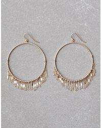 American Eagle - Metallic Delicate Gold Hoop Earrings - Lyst