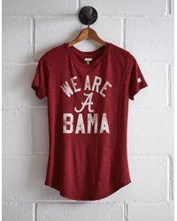 Tailgate Red Women's Alabama Bama T-shirt