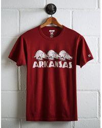 Tailgate Red Men's Arkansas Razorbacks T-shirt for men