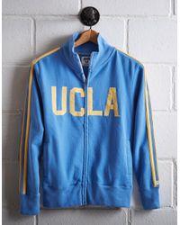 Tailgate Blue Men's Ucla Track Jacket for men