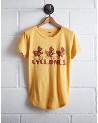 Tailgate Yellow Women's Iowa State Cyclones T-shirt