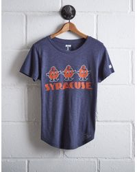 Tailgate Blue Women's Syracuse University T-shirt