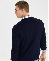 American Eagle - Blue Ae V-neck Sweater for Men - Lyst