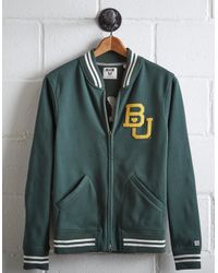 Tailgate Green Men's Baylor Bomber Jacket for men