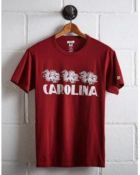Tailgate - Red Men's Carolina Gamecocks T-shirt for Men - Lyst